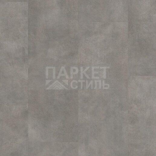 Виниловый пол PERGO (Бельгия) - Optimum Click Tiles Бетон серый темный замковой V3120-40051